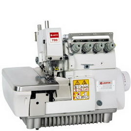 JT799-3/4/5/6 5-YARN THICK MATERIAL OVERLOCK SEWING MACHINE
