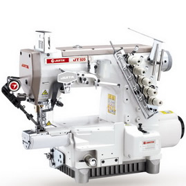 JT920T-365-EST SMALL TUBE-TYPE 3-NIDDLE 5-THREAD HIGH-SPEED INTERLOCK SEWING MACHINE